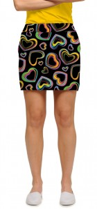 Electric Hearts StretchTech Women's Skort