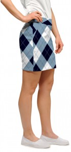 Blue & White Women's Skort/Skirt MTO