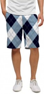Blue & White Men's Short MTO