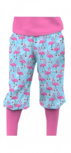Flamingo Christmas StretchTech Knickerbockers MTO