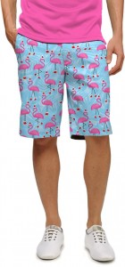 Flamingo Christmas StretchTech Men's Short MTO