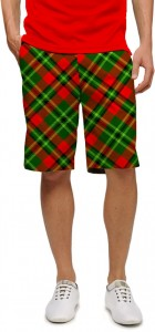 Holiday Tartan StretchTech Men's Short
