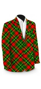 .Holiday Tartan StretchTech Men's Sport Coat MTO