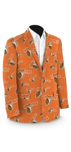 Hooters Orange StretchTech Men's Sport Coat MTO