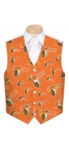 Hooters Orange StretchTech Men's Vest MTO