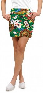 Jackpot Green StretchTech Women's Skort/Skirt MTO