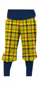 Margarita Plaid StretchTech Knickerbockers MTO