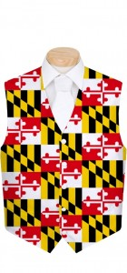 Maryland Flag StretchTech Men's Vest MTO