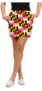 Maryland Flag StretchTech Women's Skort/Skirt MTO