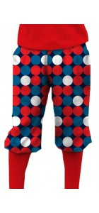 Disco Balls Red StretchTech Knickerbockers MTO