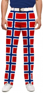 Norway Flag Men's Pant MTO