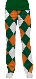 Orange & Green Women's Capri/Pant MTO