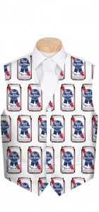 .Pabst Blue Ribbon Cans Men's Vest MTO