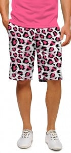 Pink Leopard StretchTech Men's Short MTO
