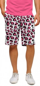 Pink Leopard StretchTech Men's Short