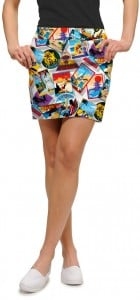 Postcards from the Wedge Women's Skort/Skirt MTO