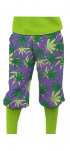 Purple Herb StretchTech Knickerbockers MTO