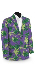 Purple Herb StretchTech Men's Sport Coat MTO