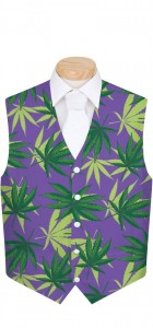 Purple Herb StretchTech Men's Vest MTO