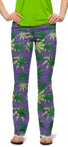 Purple Herb StretchTech Women's Capri/Pant MTO