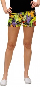 Splatterific StretchTech Women's Mini Short MTO
