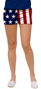 Stars & Stripes StretchTech Women's Mini Short
