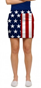 Stars & Stripes StretchTech Women's Skort