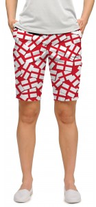 Saint George's Cross StretchTech Women's Bermuda Short MTO
