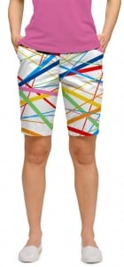 Stix White StretchTech Women's Bermuda Short MTO