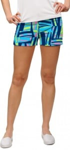 Tiki Bar Blue Women's Mini Short MTO